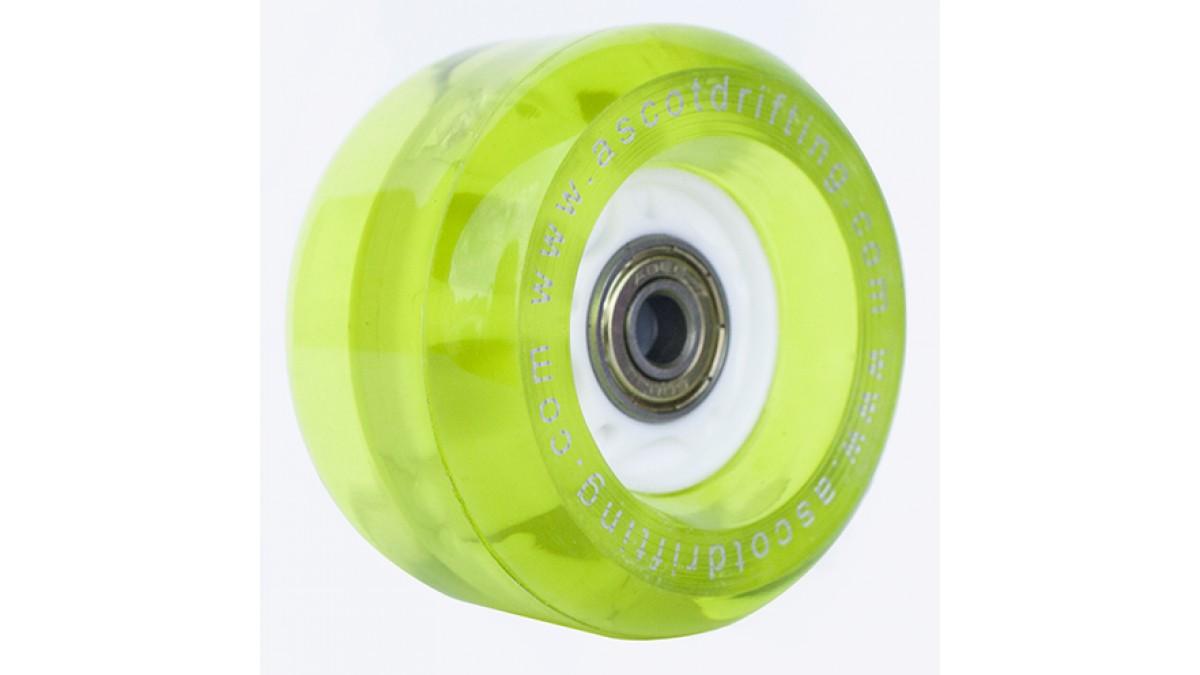 Green Light-Up Wheels