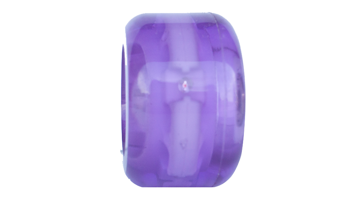 Purple Light-Up Wheels