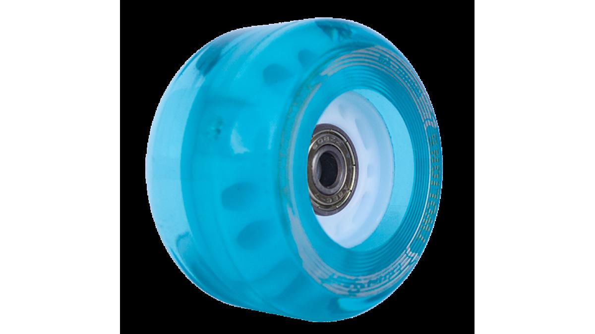 Turquoise Light-Up Wheels